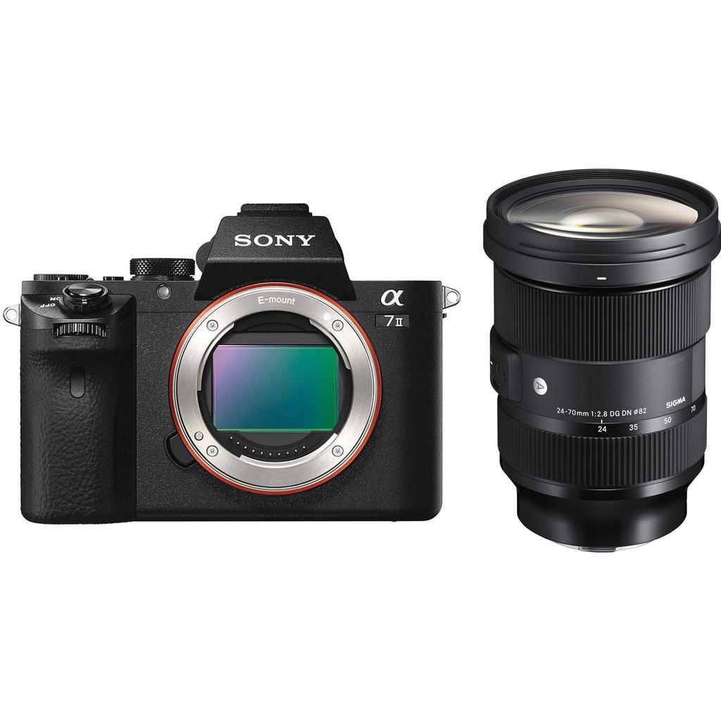 Sony A7II + Sigma 24-70