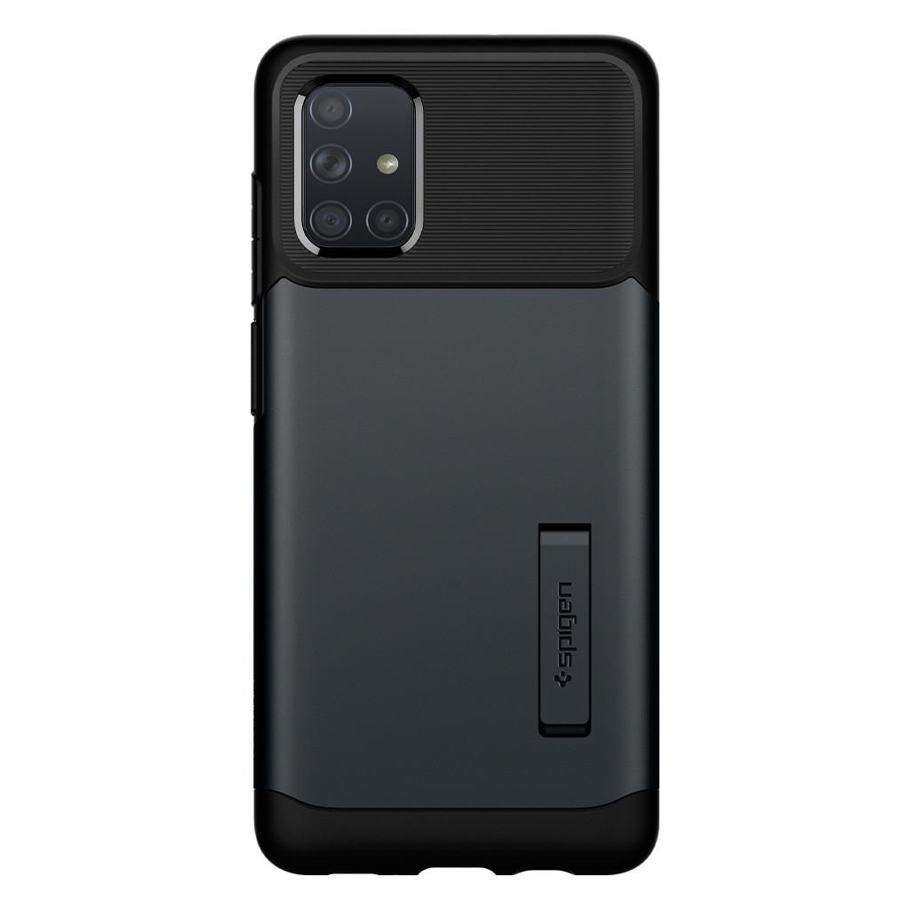 Spigen Slim Armor Samsung Galaxy A71 Back Cover Zwart