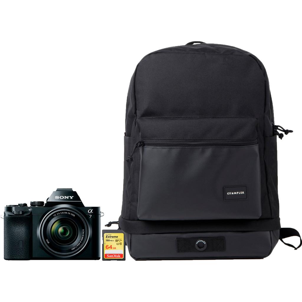 Starterskit - Sony A7 + 28-70mm + Tas + 64GB Geheugenkaart