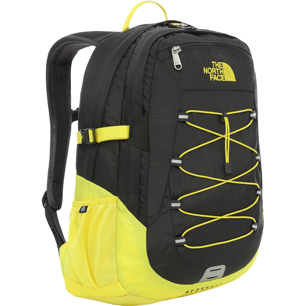 "The North Face Borealis Classic 15"" Asphalt Grey / TNF Lemon 29L"