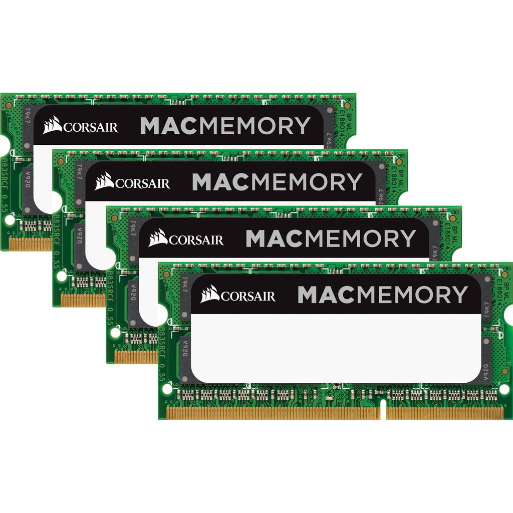 Corsair Apple Mac 16GB DDR3L SODIMM 1600 MHz Duo Pack (4x8GB