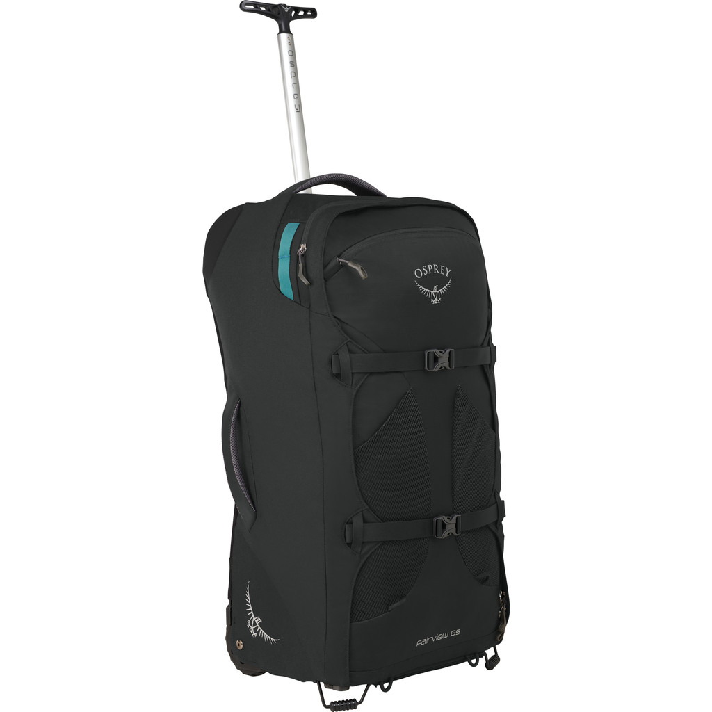 Osprey Fairview Wheels 65L Black