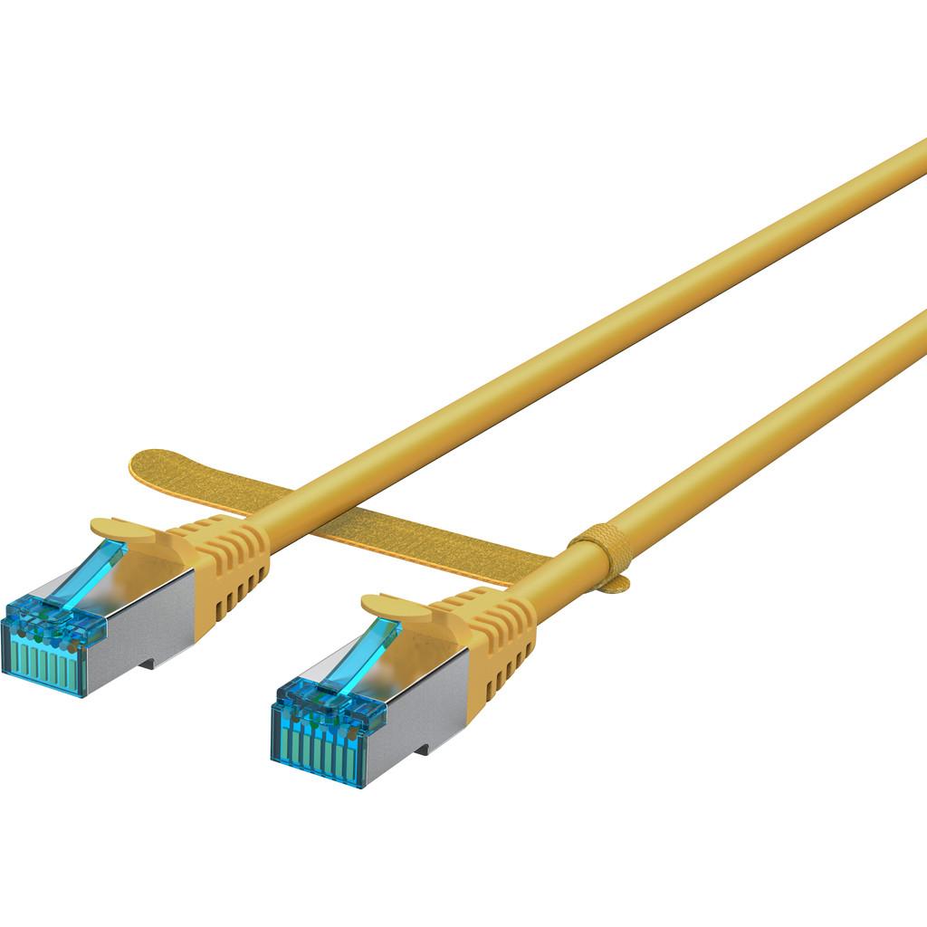 BlueBuilt Netwerkkabel STP CAT6 1 meter geel