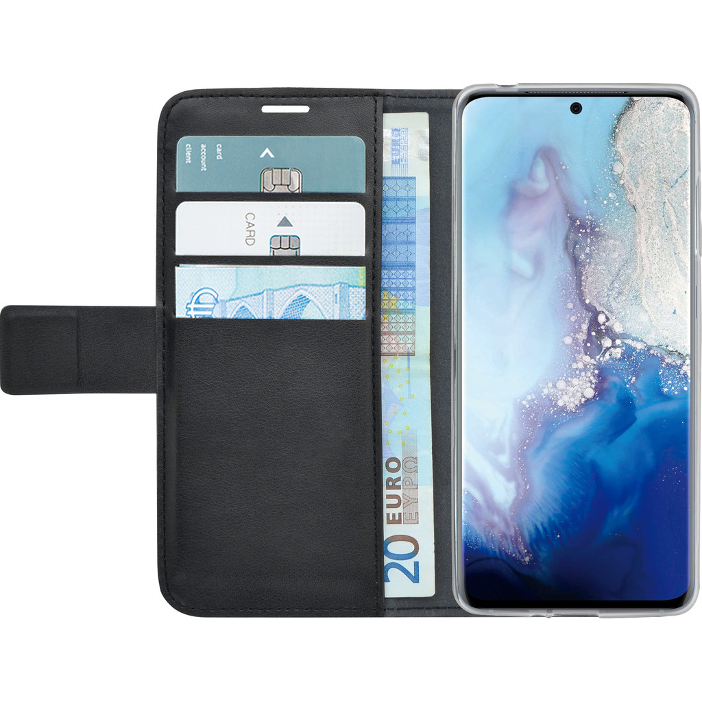 Azuri Wallet Magneet Samsung Galaxy S20 Ultra Book Case Zwart