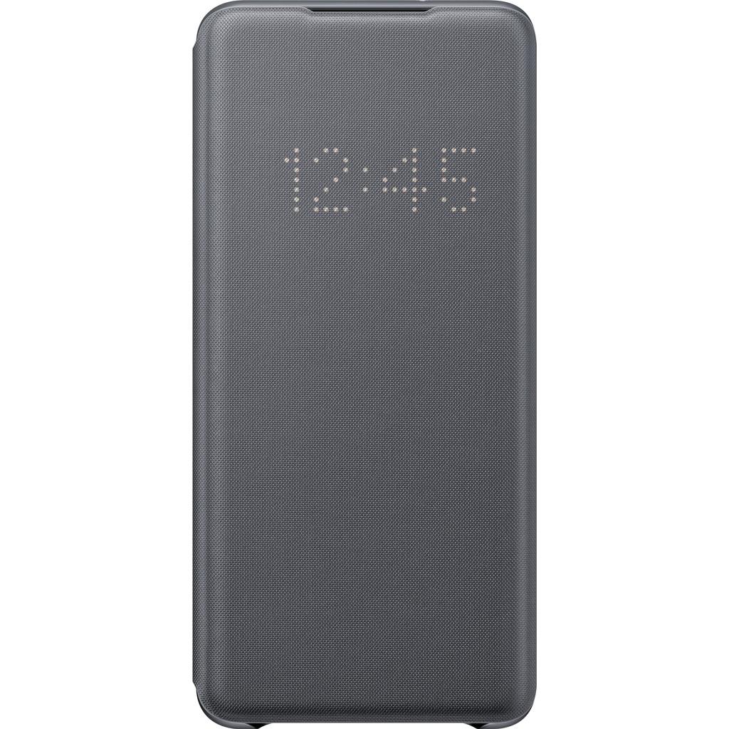 Samsung Galaxy S20 Plus Led View Book Case Grijs