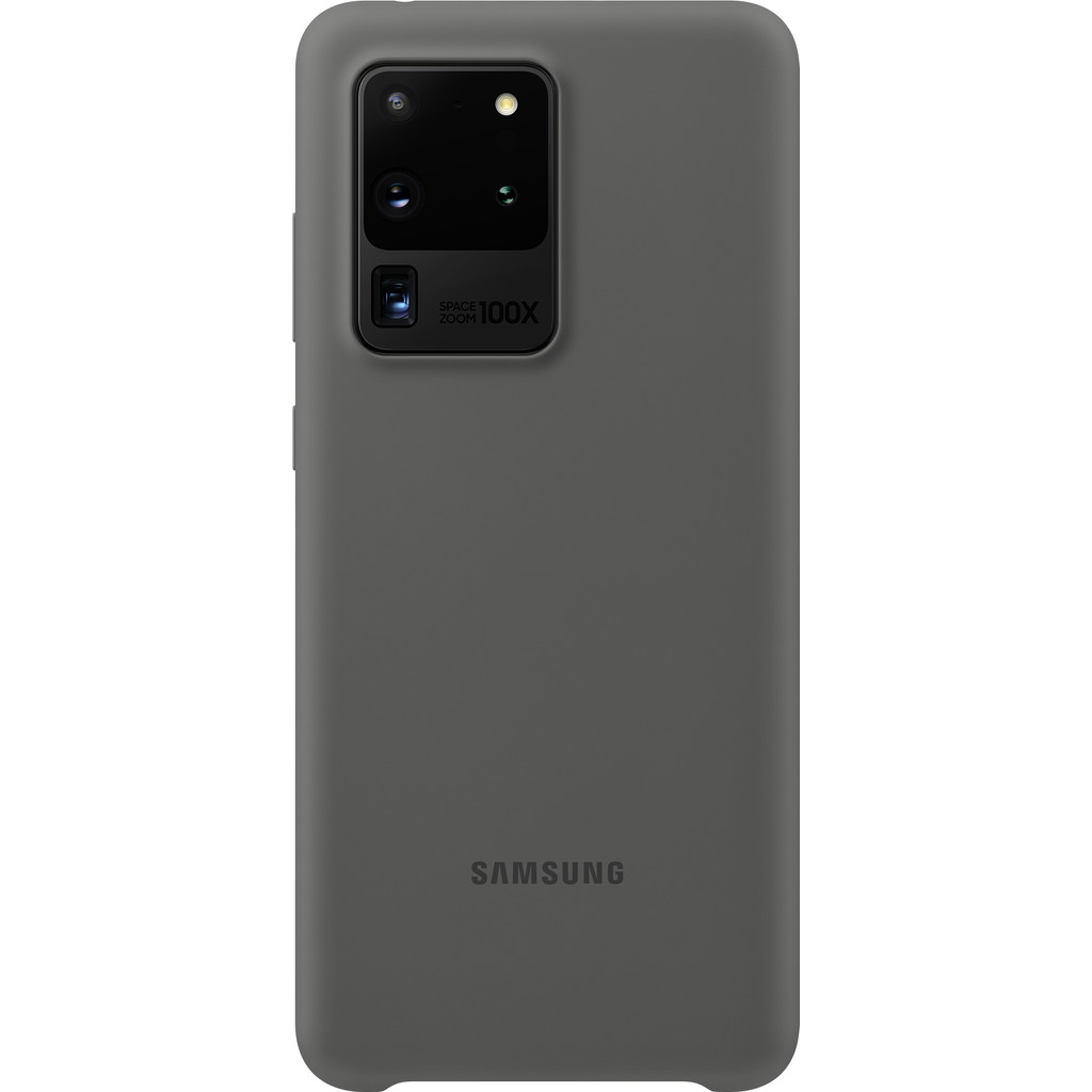 Samsung Galaxy S20 Ultra Silicone Back Cover Grijs