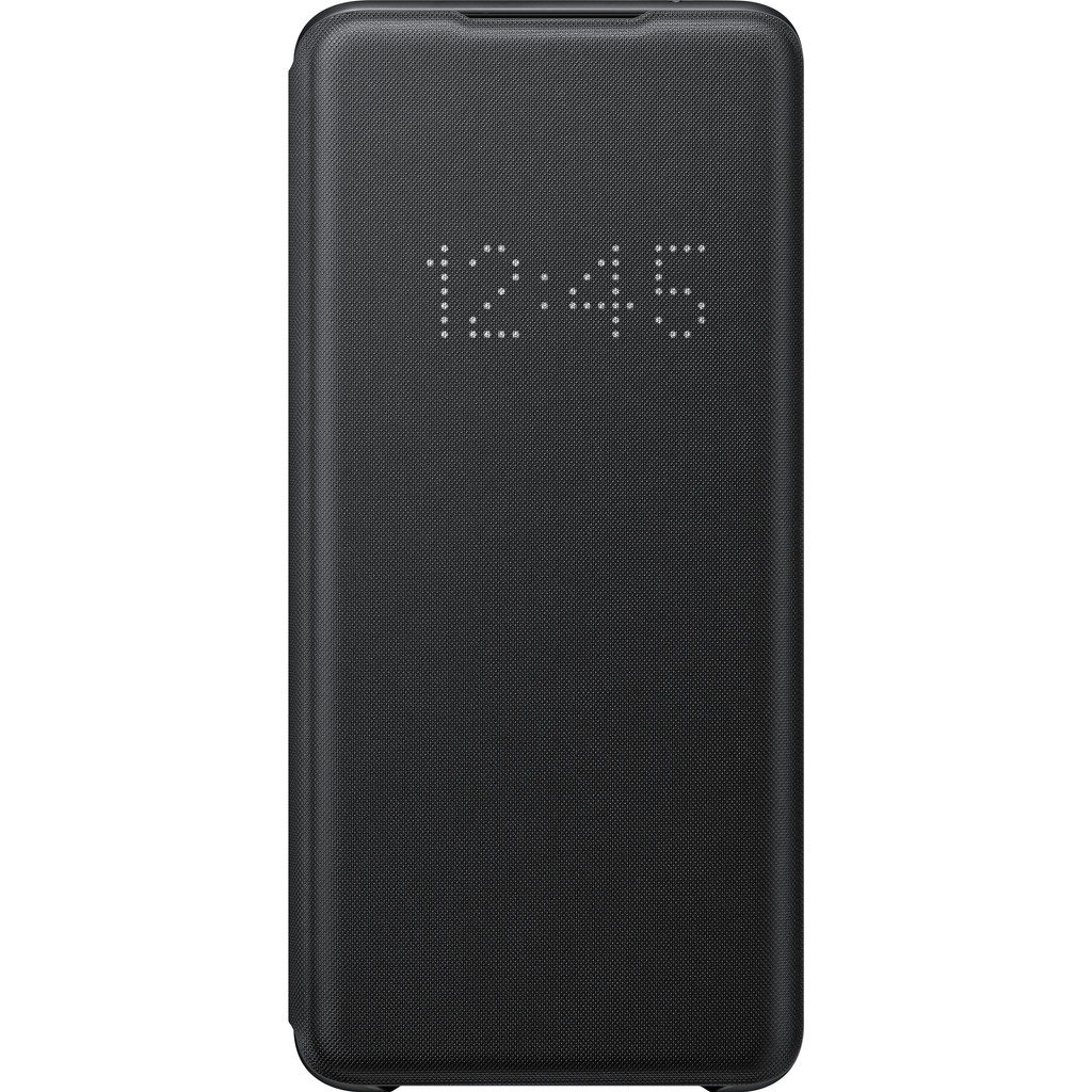 Samsung Galaxy S20 Ultra Led View Book Case Zwart