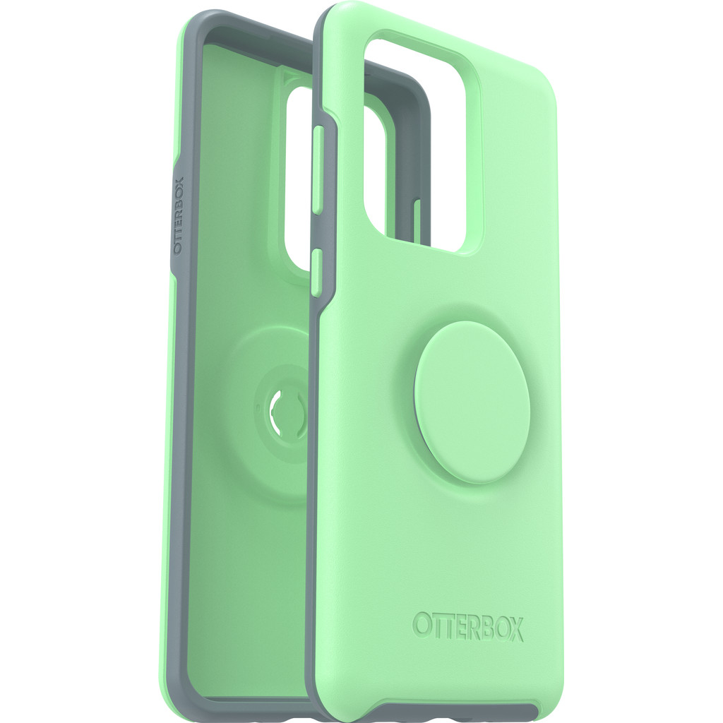 Otterbox Otter + Pop Symmetry Samsung Galaxy S20 Ultra Back Cover Groen