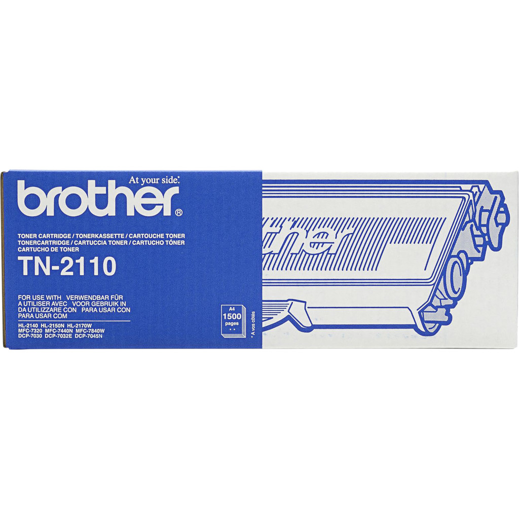 Brother TN-2110 Toner (zwart)