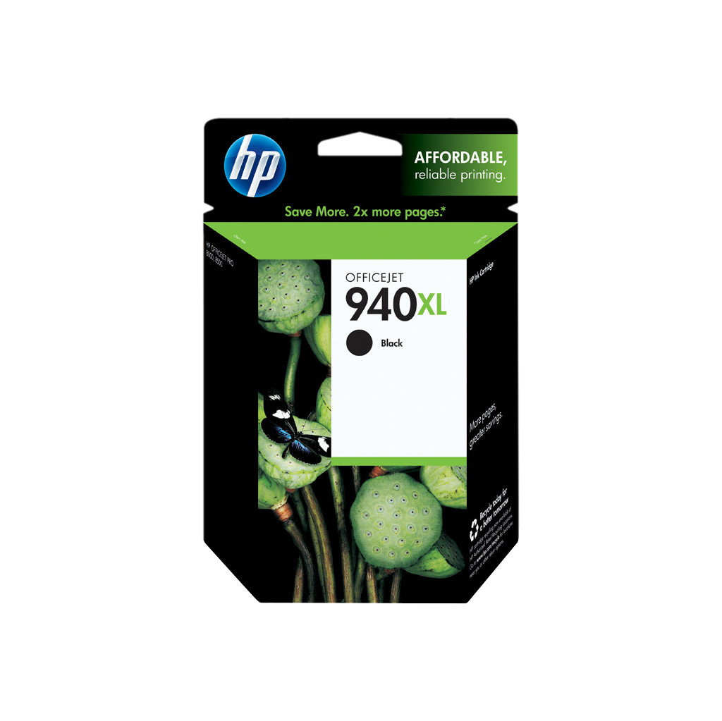 HP 940 Black XL Ink Cartridge (zwart) C4906A