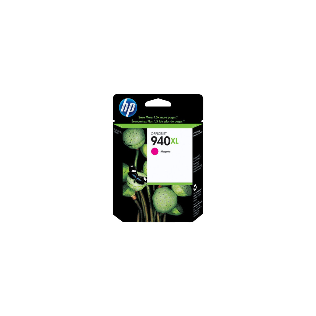 HP 940 Magenta XL Ink Cartridge (rood) C4908A