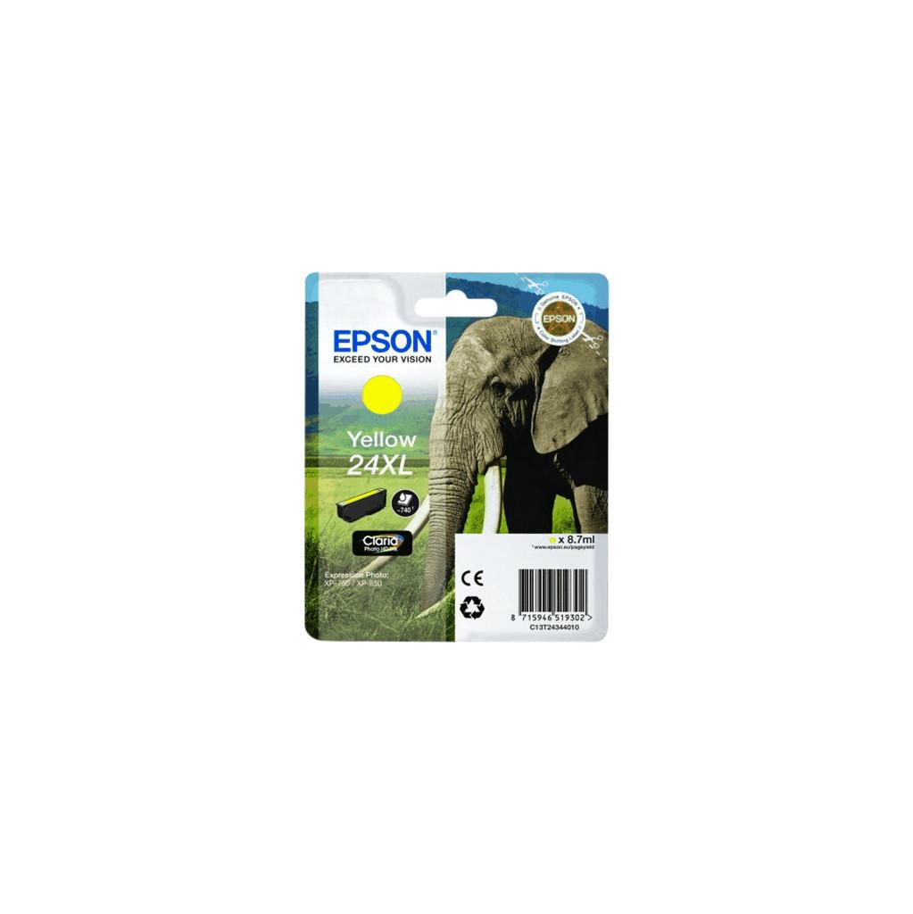 Epson 24 XL Inktcartridge Geel C13T24344010