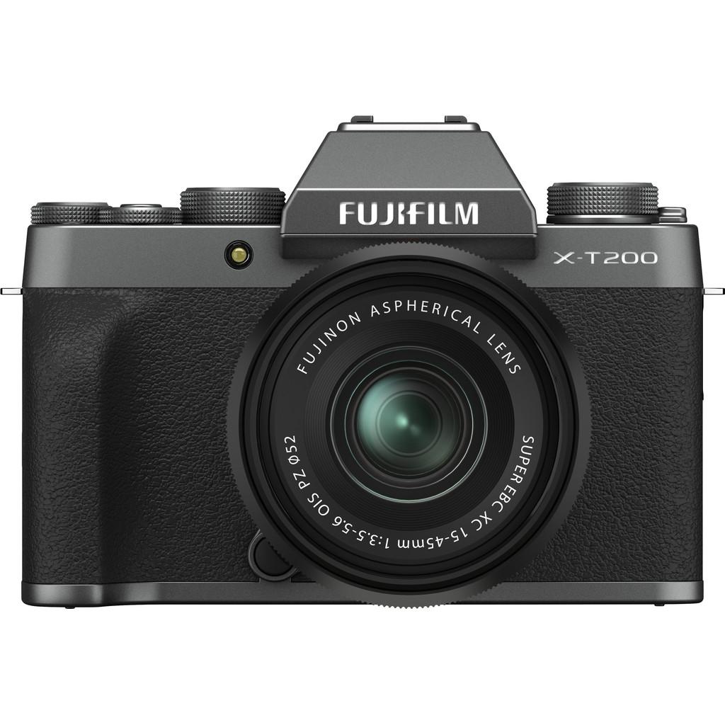 Fujifilm X-T200 Donker Zilver + XC 15-45mm f/3.5-5.6 OIS PZ