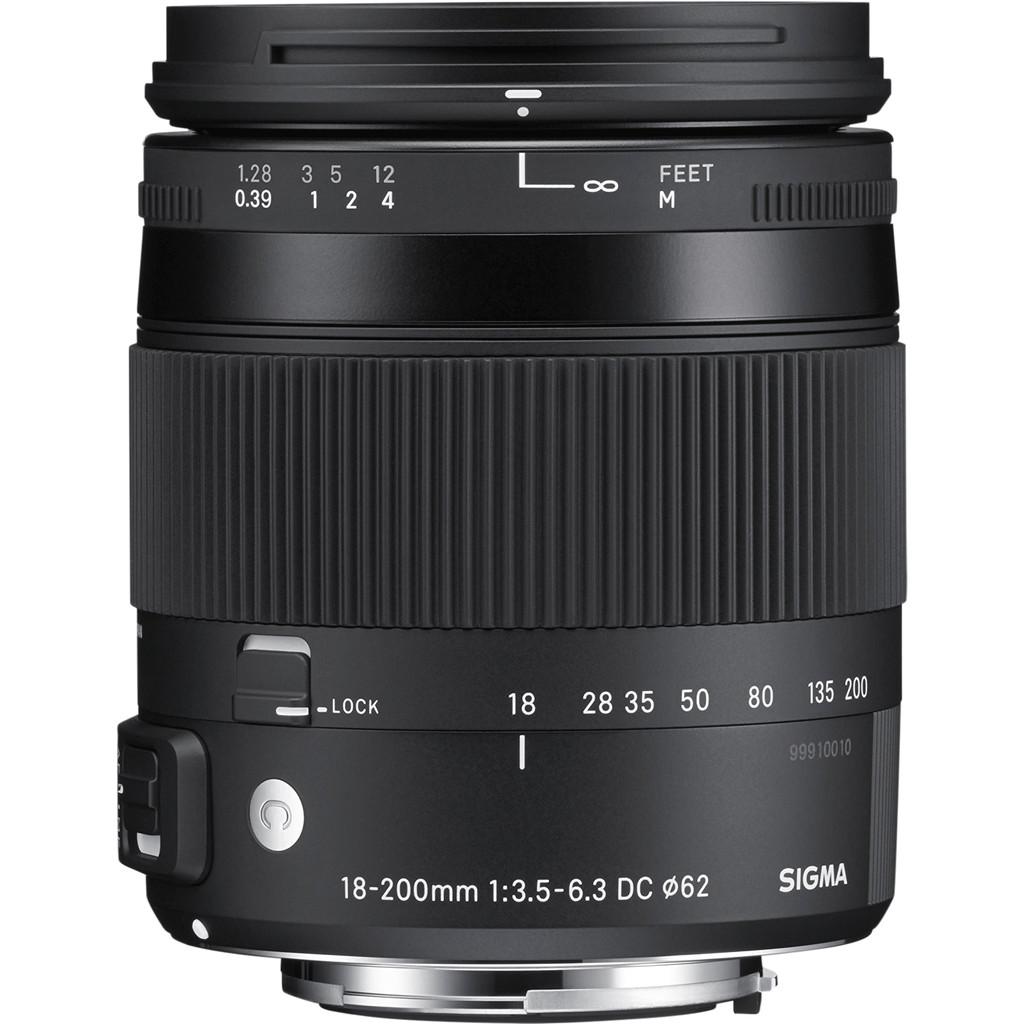 Sigma EF-S 18-200mm f/3.5-6.3 DC Macro OS HSM C Canon