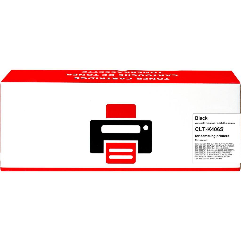 Pixeljet CLT-K406S Toner Zwart voor Samsung printers