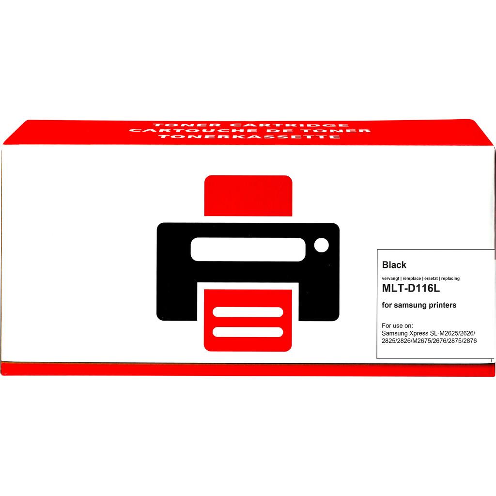 Pixeljet MLT-D116L Toner Zwart XL voor Samsung printers