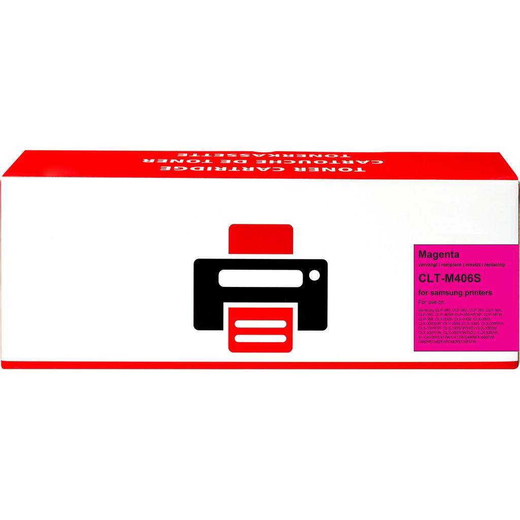 Pixeljet CLT-M406S Toner Magenta voor Samsung printers