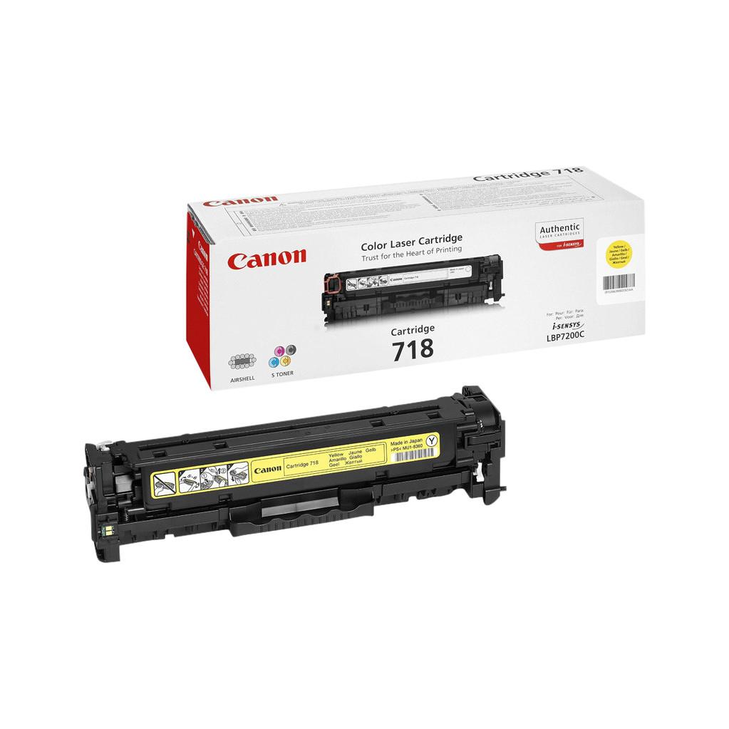 Canon CRG-718 Toner Geel (2659B002)