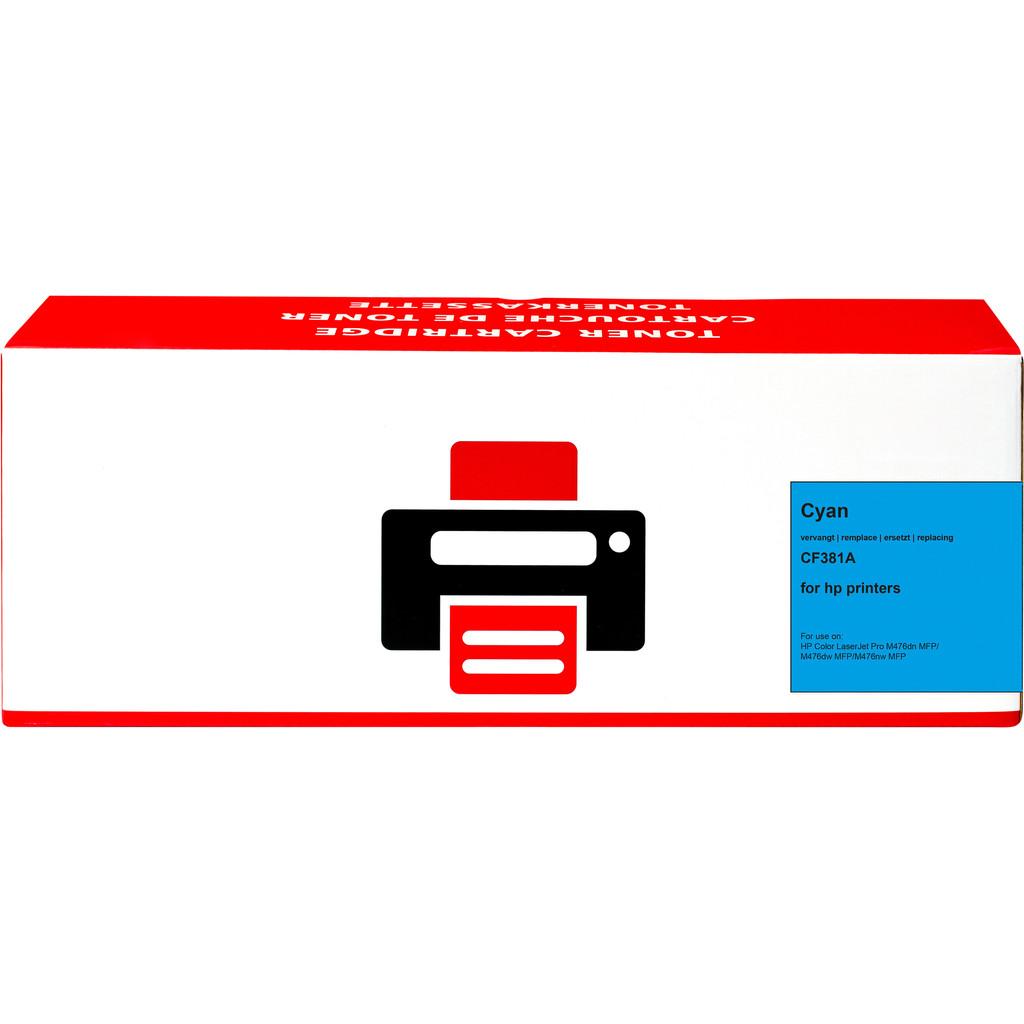Pixeljet 312A Toner Cyaan voor HP printers (CF381A)