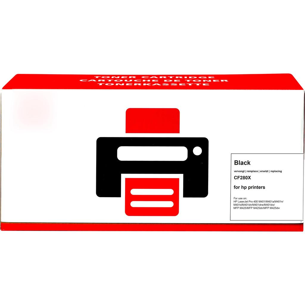 Pixeljet 80X Toner Zwart XL voor HP printers (CF280X)