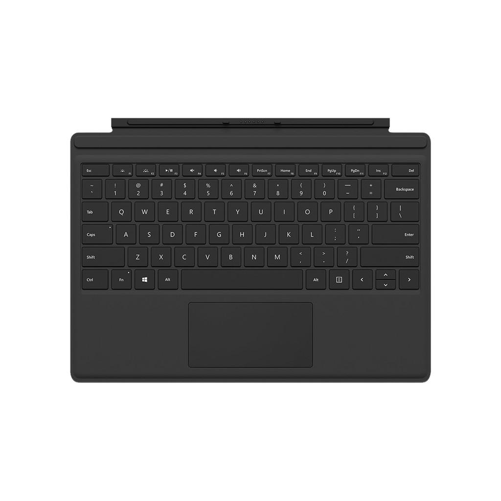 Microsoft Surface Pro 4 Type Cover Zwart AZERTY