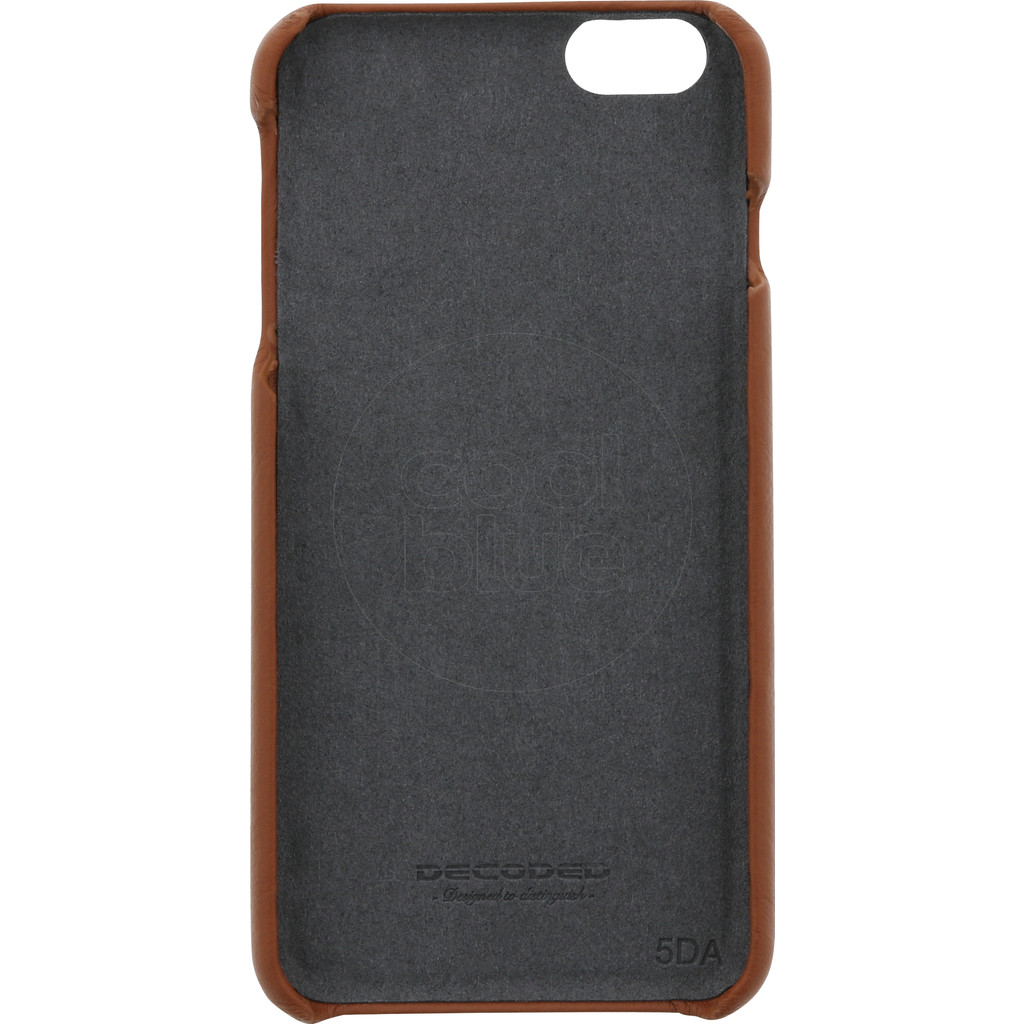 Decoded Leather Back Cover Apple iPhone 6 Plus/6s Plus Bruin