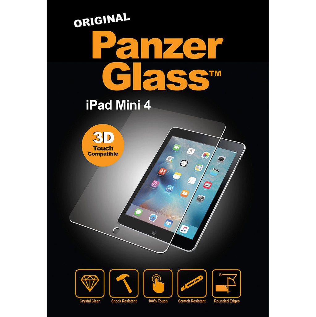 PanzerGlass Apple iPad Mini 4 Screenprotector Glas