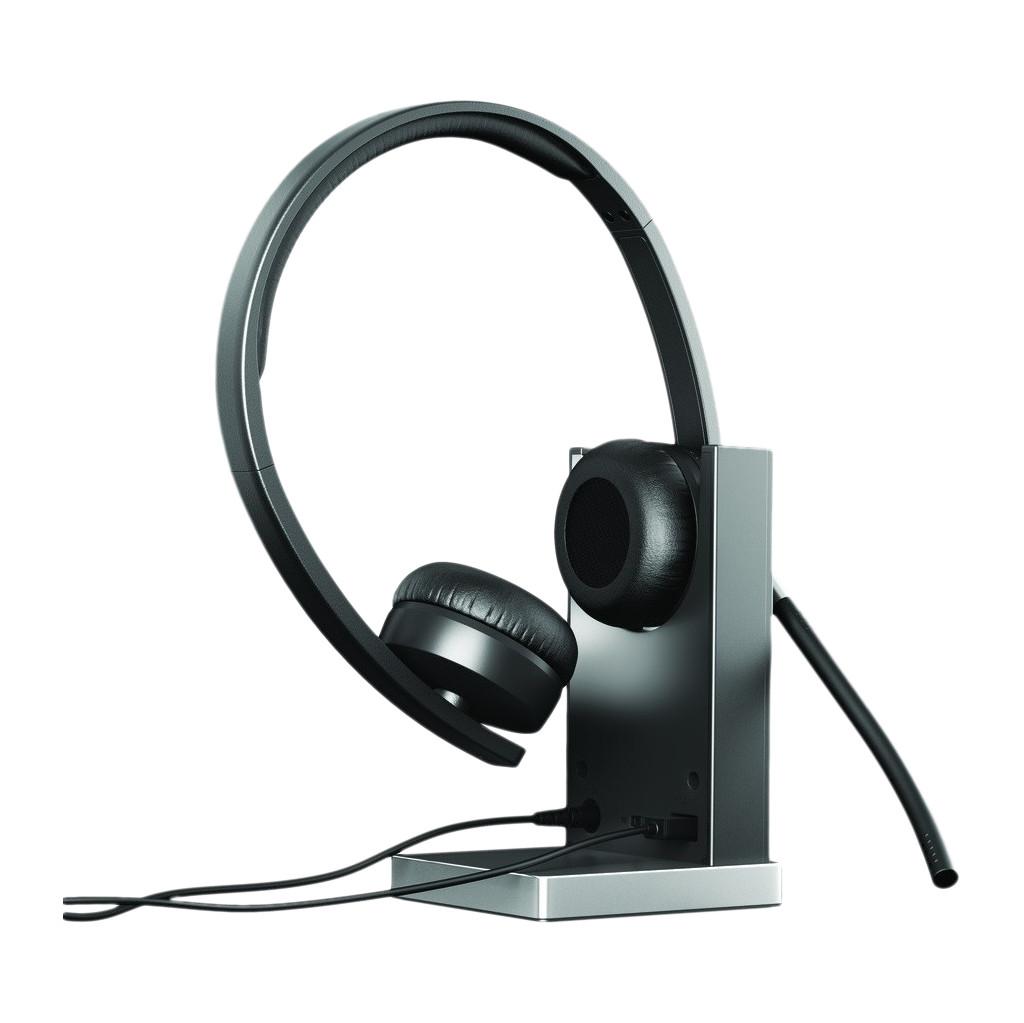Logitech Wireless Headset Dual H820e Zwart