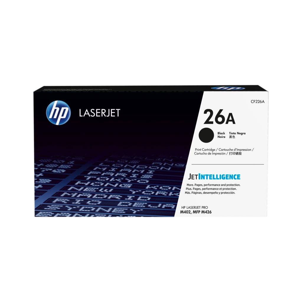 HP 26A Toner Zwart (CF226A)