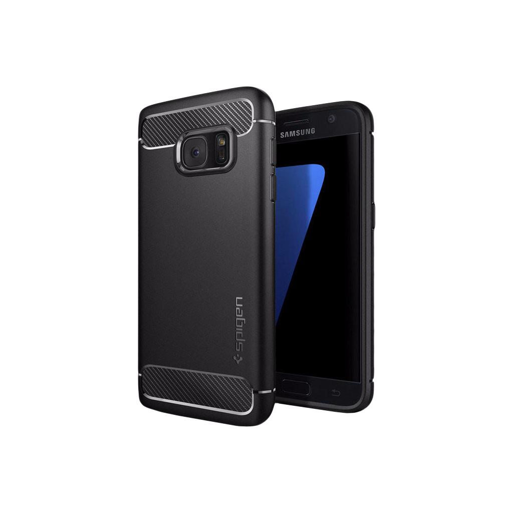 Spigen Rugged Armor Samsung Galaxy S7 Zwart