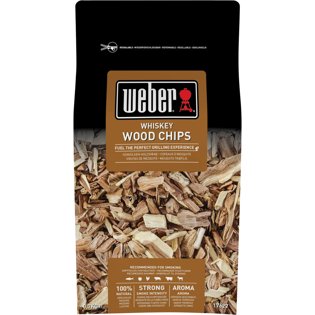 Weber Houtsnippers Whiskey 0,7 kg