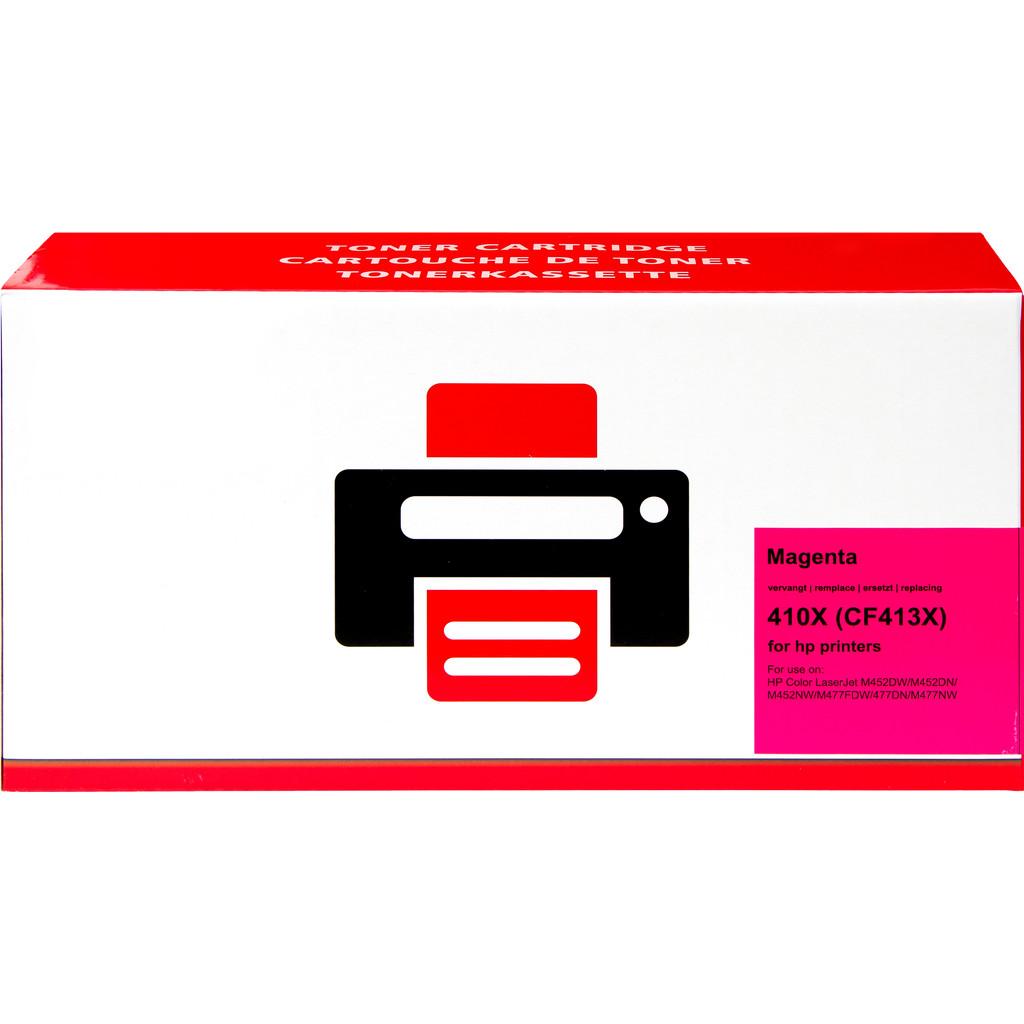 Pixeljet 410X Toner Magenta XL voor HP printers (CF413X)