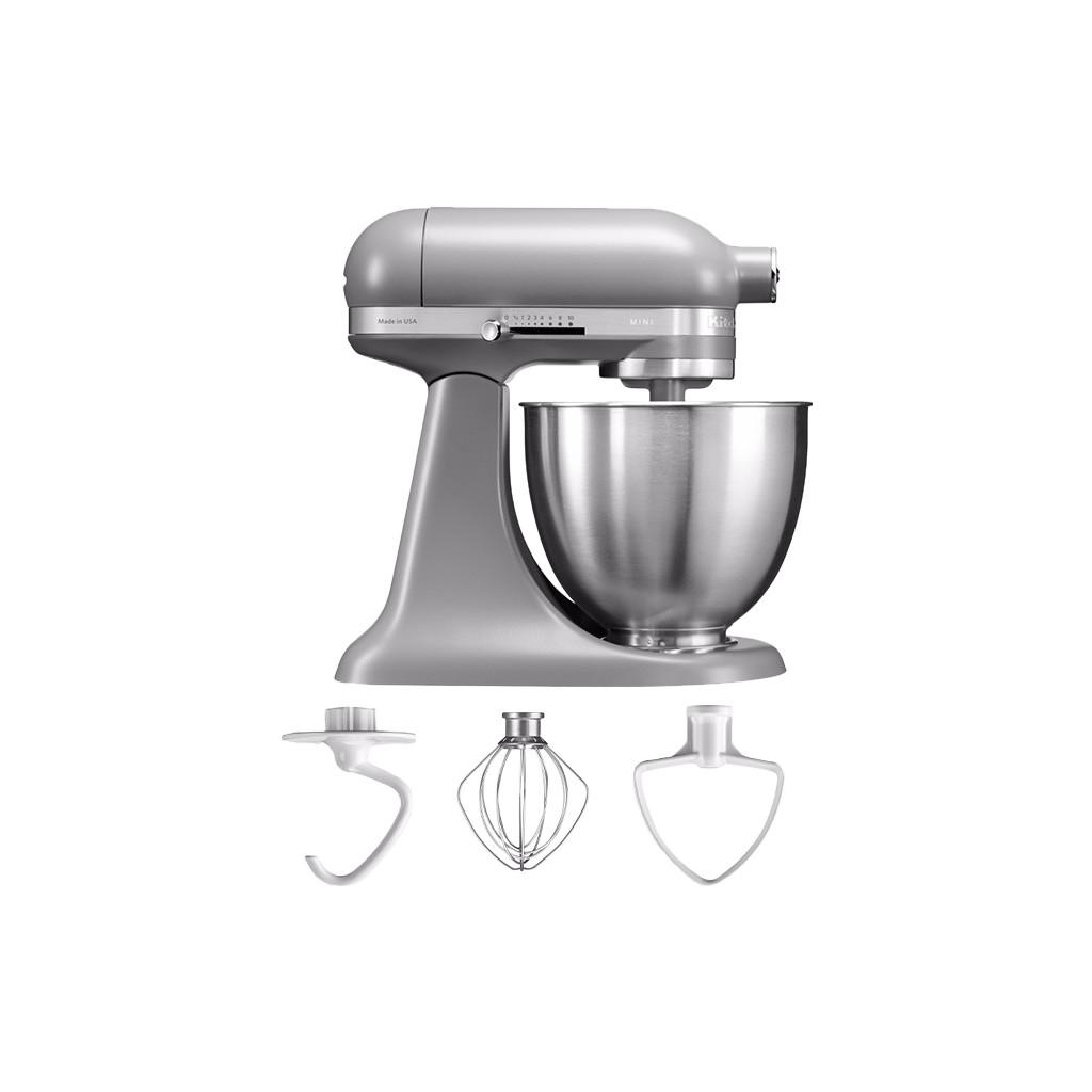 KitchenAid Artisan Mini Mixer 5KSM3311X Mat Grijs