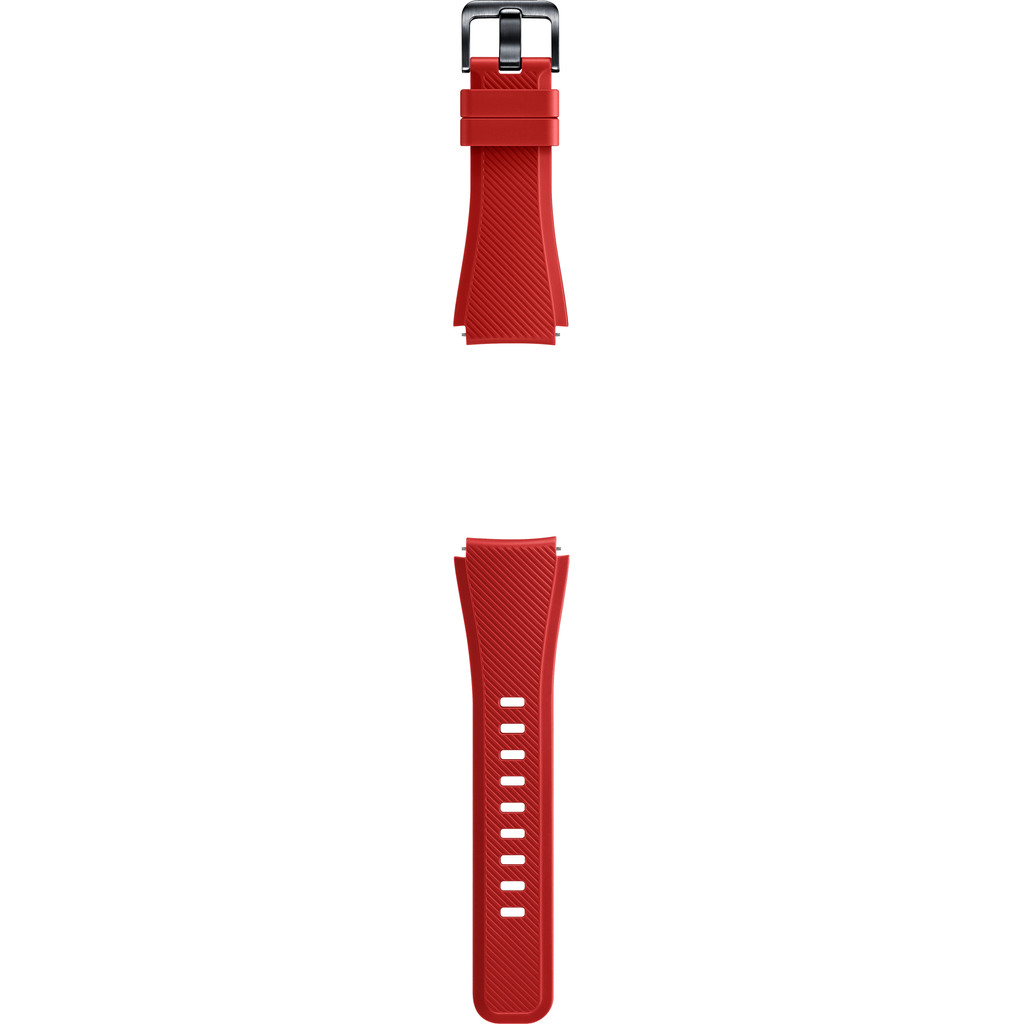 Samsung Gear S3 Silicon Band Orange Red