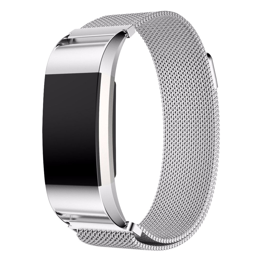 Just in Case Fitbit Charge 2 Milanees Watchband Silver