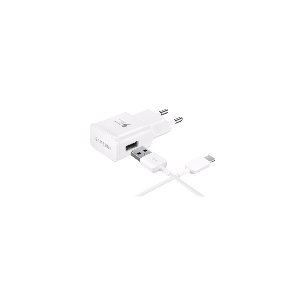 Samsung USB C Adaptive Fast Charging Oplader 1m Wit