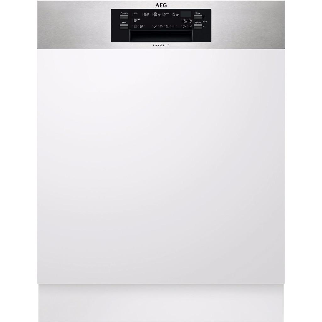 AEG FEE63600PM / Inbouw / Half geintegreerd / Nishoogte 82 - 90 cm