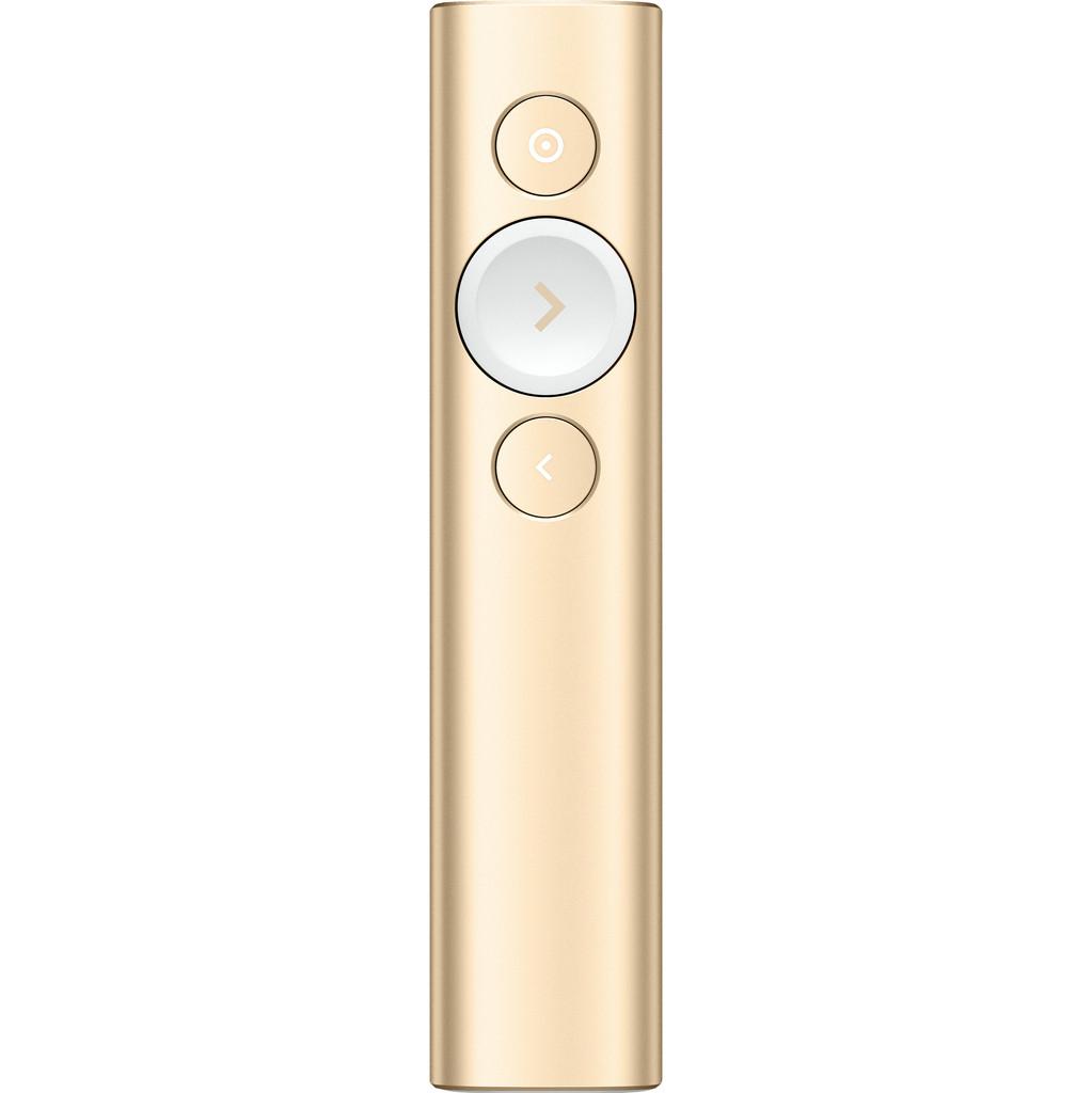 Logitech Spotlight Presentation Remote goud