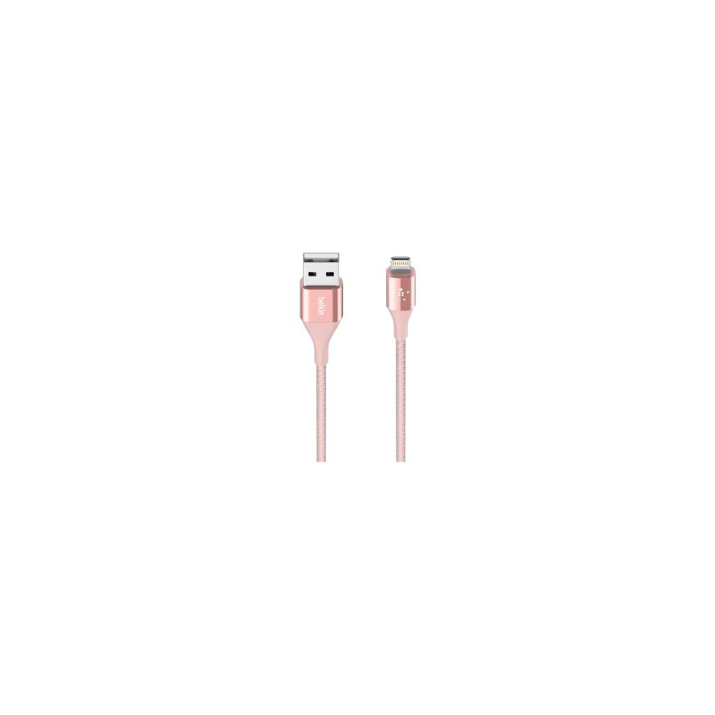 Belkin Duratek Usb A naar Lightning Kabel Rosé Goud 1,2 Meter