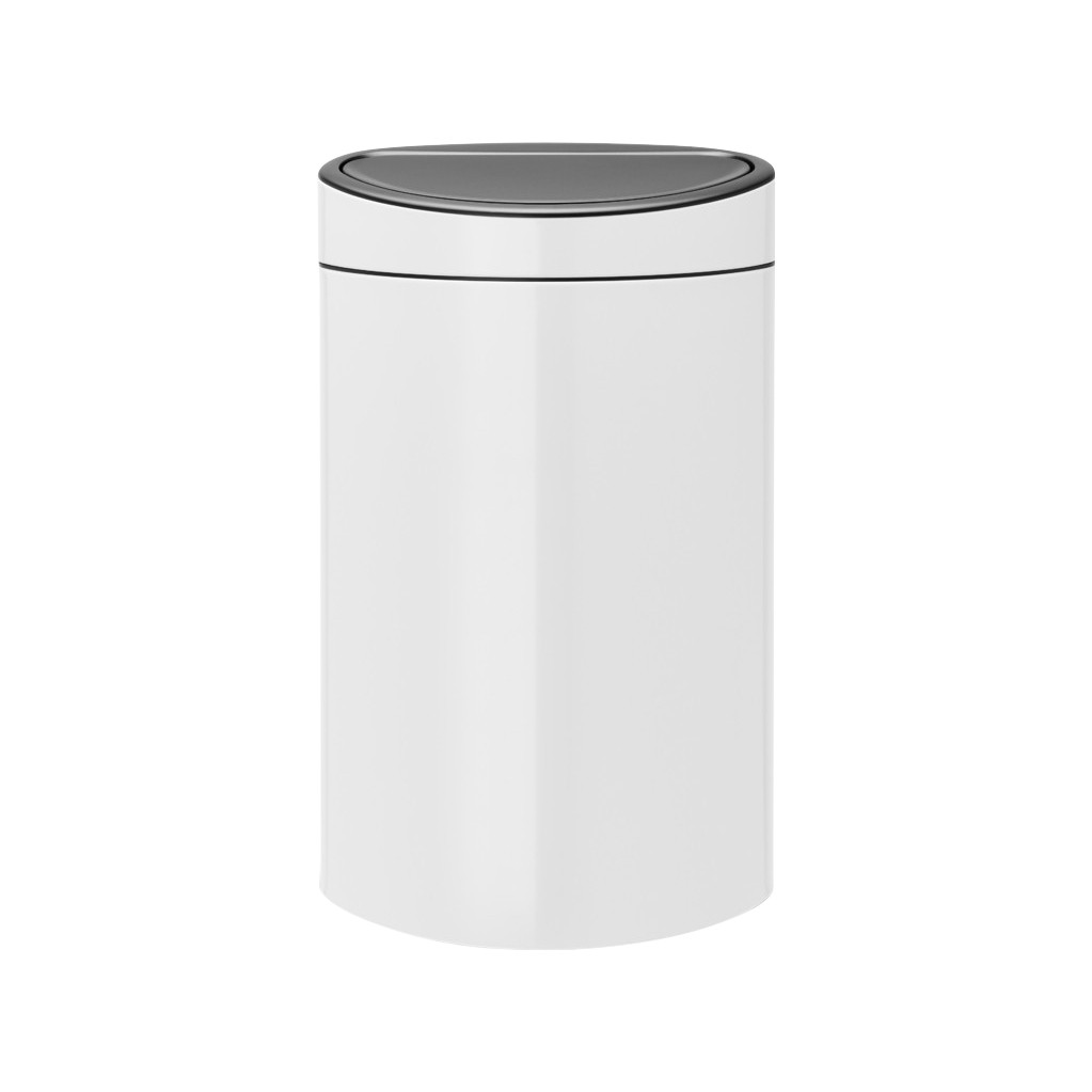 Brabantia Touch Bin 40 Liter White