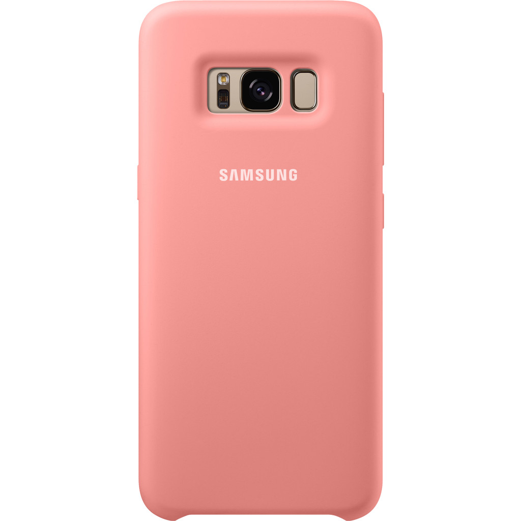 Samsung Galaxy S8 Silicone Back Cover Roze