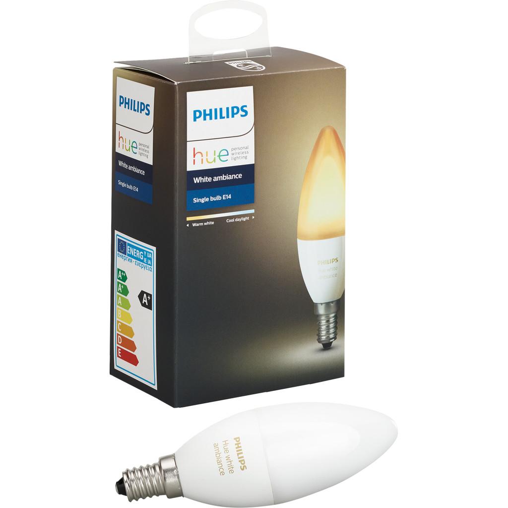Philips Hue White Ambiance E14 Singlepack