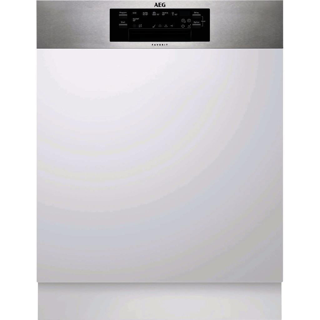 AEG FEE62800PM / Inbouw / Half geintegreerd / Nishoogte 82 - 90 cm