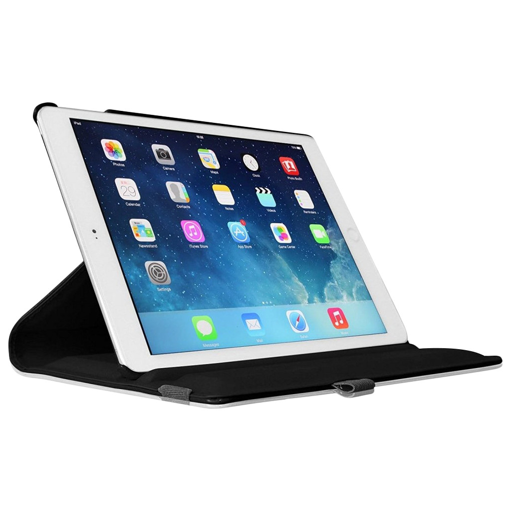 Just in Case Apple iPad 9,7 inch (2017) 360 Rotating Hoes Zwart