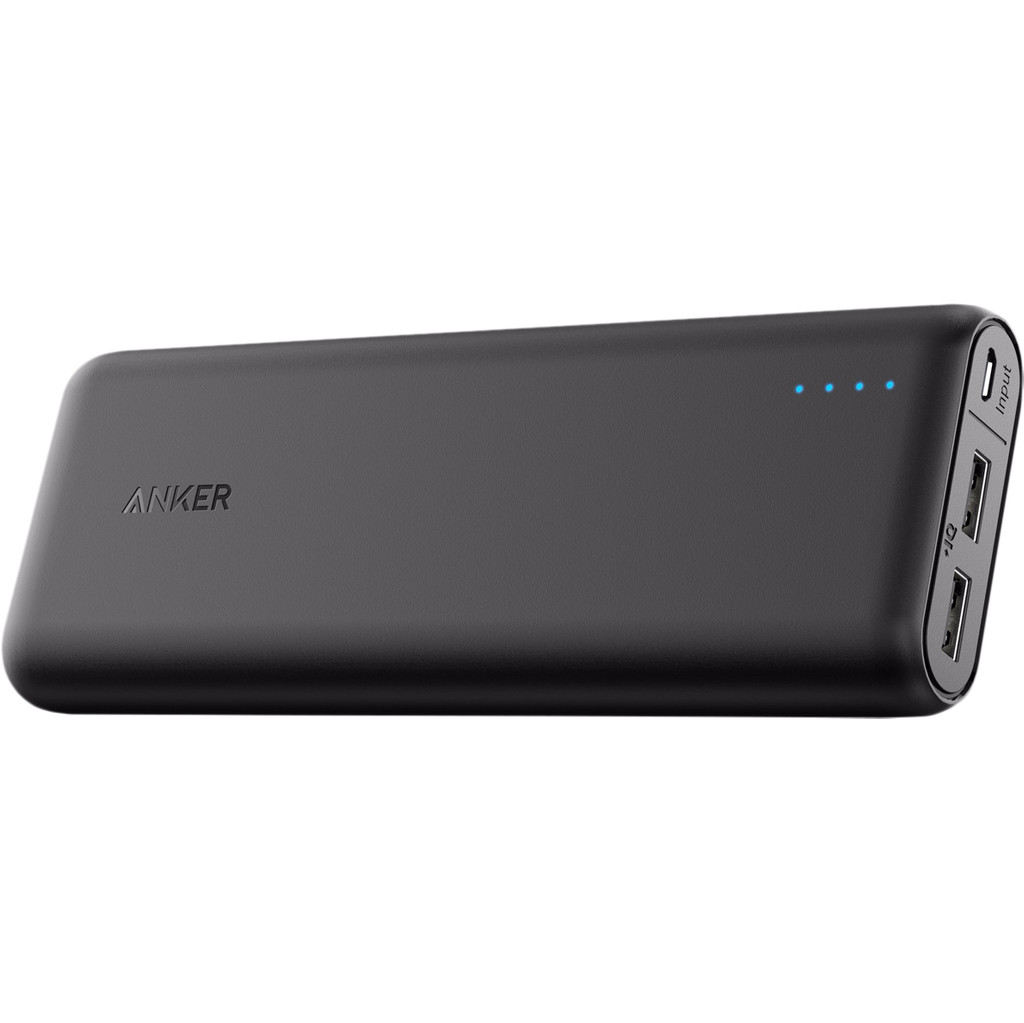 Anker PowerCore Powerbank 15.600 mAh Zwart