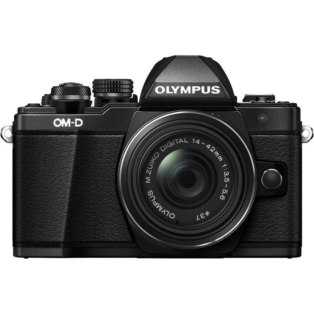 Olympus OM-D E-M10 Mark II Zwart + 14-42mm IIR