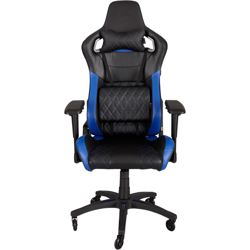 Corsair T1 Race Gaming Chair Zwart/ Blauw