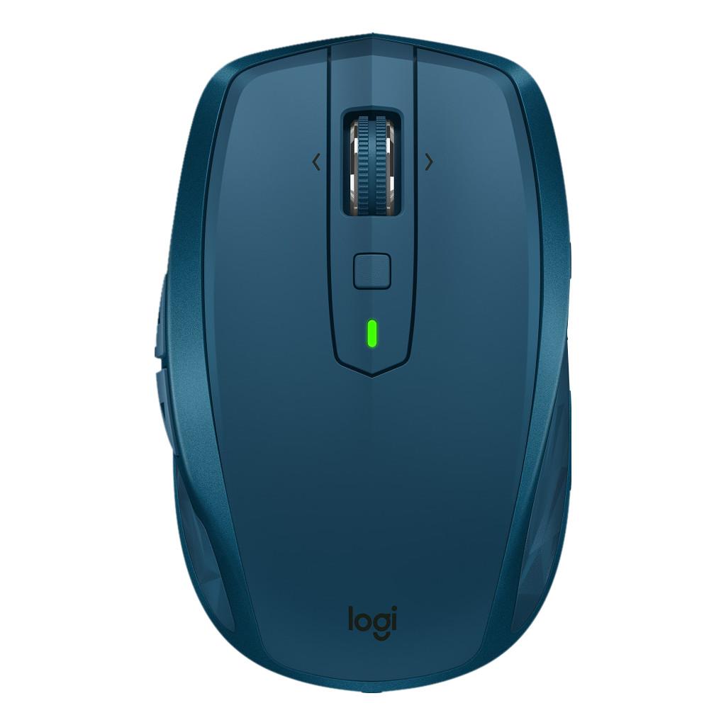 Logitech MX Anywhere 2S Draadloze Mobiele Muis Blauw