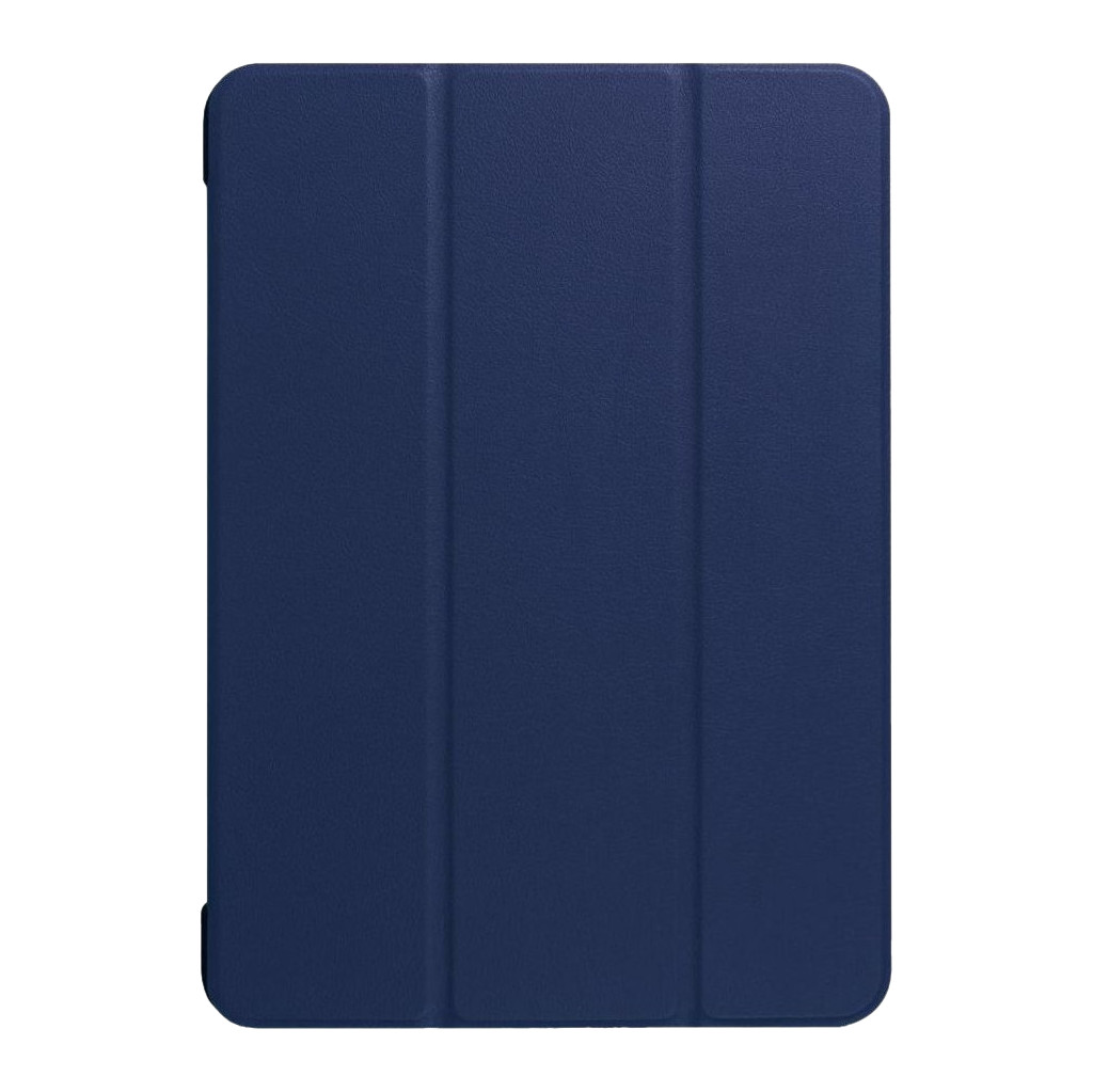 Just in Case iPad 12.9 (2017) Smart Tri-Fold Case Blauw