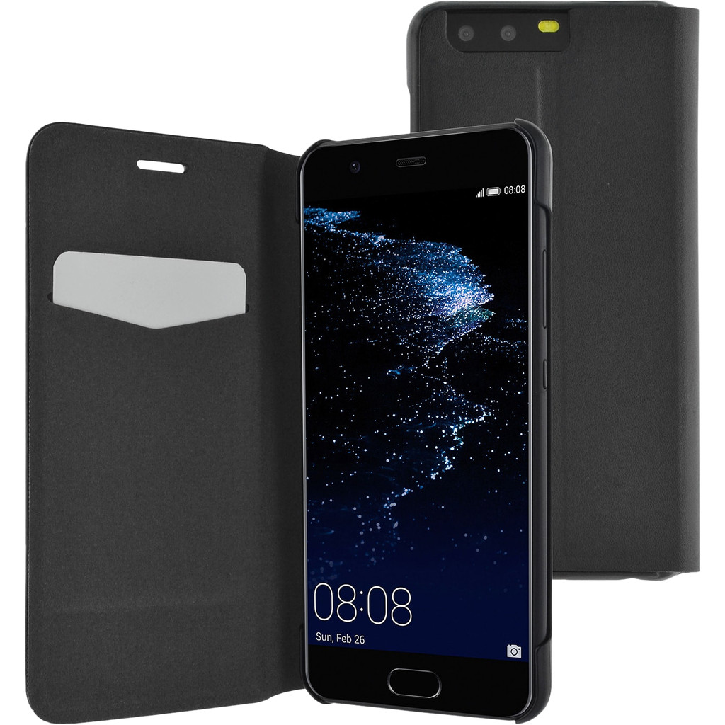 Azuri Booklet Ultra Thin Huawei P10 Book Case Zwart